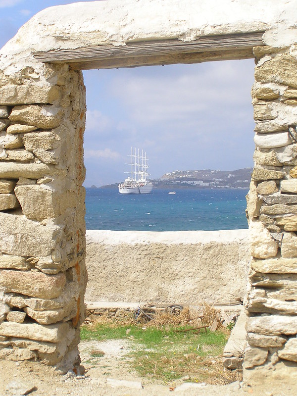 Doorway in Mykonos