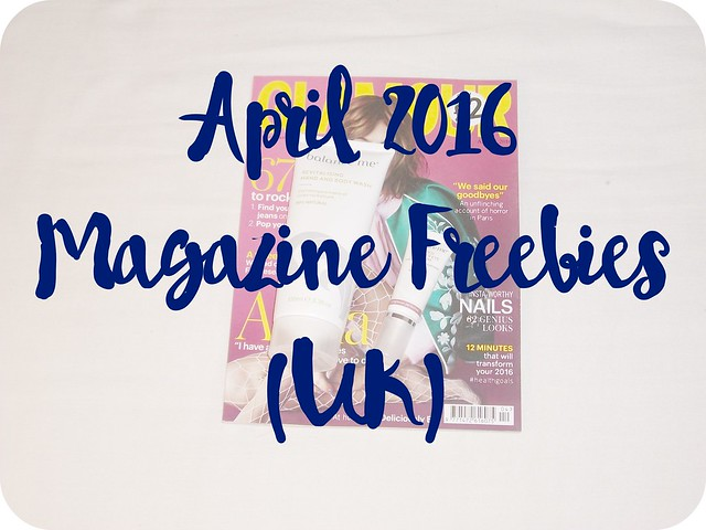 April 2016 Magazine Freebies