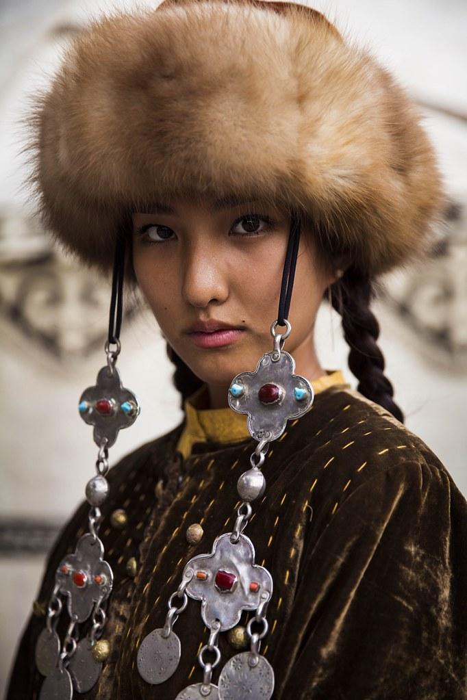 Portrait de femme, Kirghizistan Photo: Mihaela Noroc
