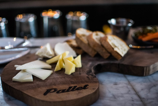 Pallet Cheese Board