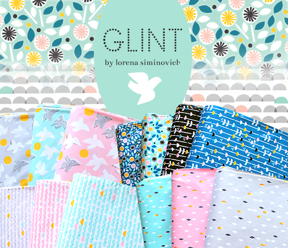 Cloud9 Fabrics Glint Collection by Lorena Siminovich