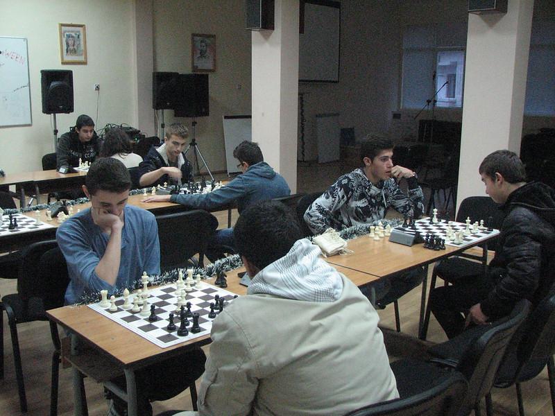 Коледен шахматен турнир