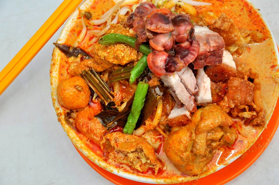 selayang big bowl curry noodle 1