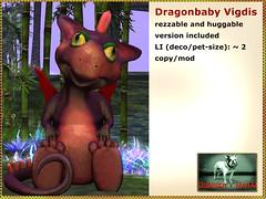 Bliensen - Dragonbaby Vigdis