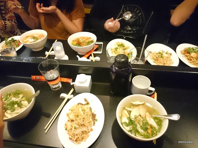 Dinner at Shanghai Noodle on the Norwegian Getaway cruise ship
