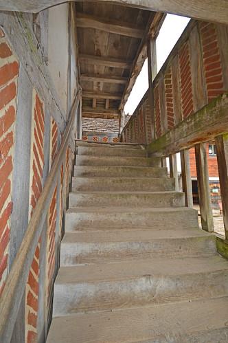 Weald and Downland Market Hall Steps