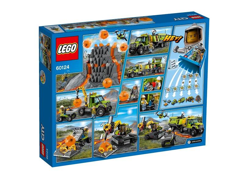 LEGO City Volcano Research Base (60124)