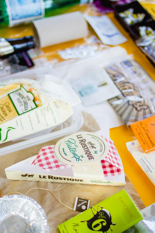 waste packaging supermarket