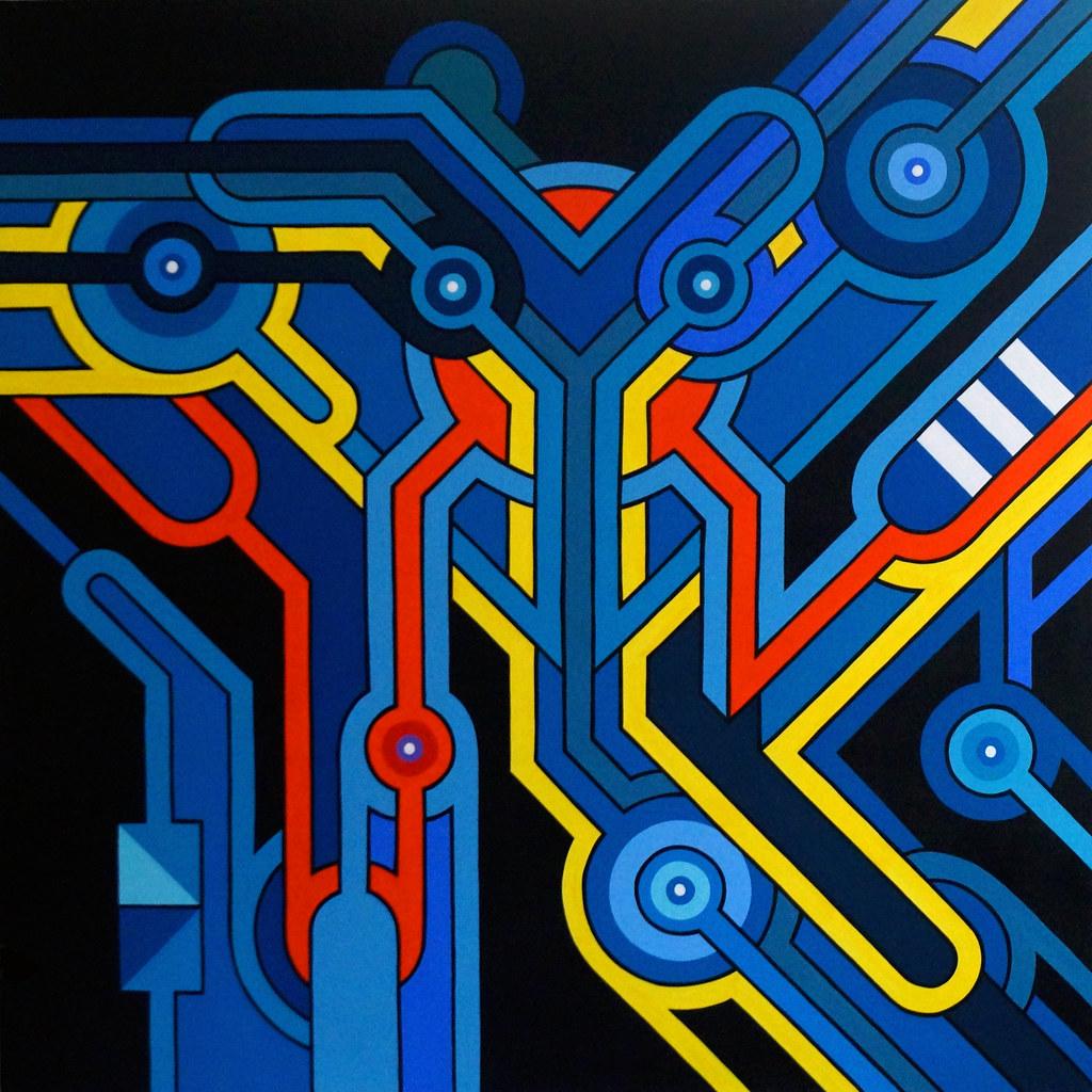 Meta-cyber-espace-de-la-galaxie-bleue