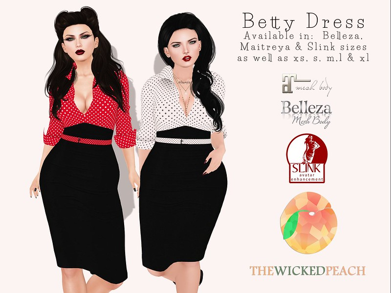 Wicked Peach - Betty Advert