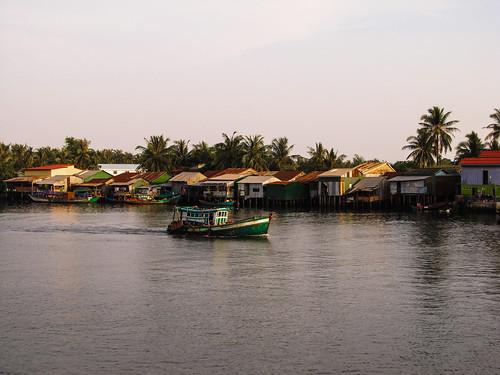 Kampot: village de pêcheurs