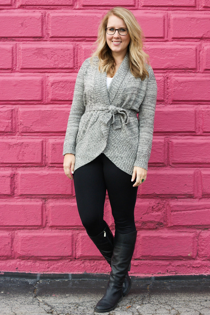 Adventure and Splendor Cardigan in Ash