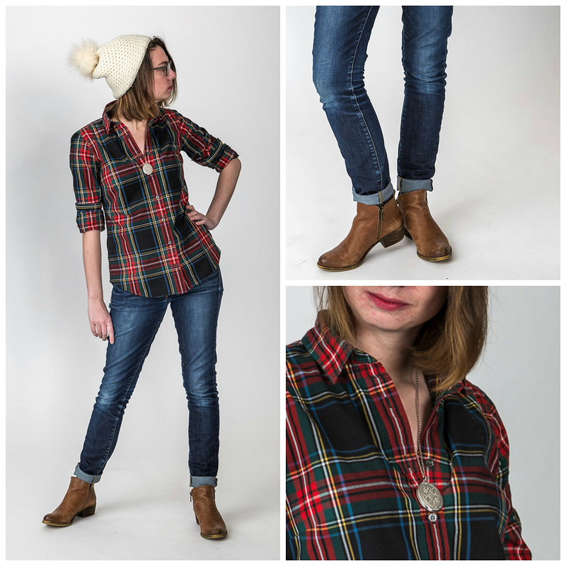 flannel shirt, mountain outfit, red lodge,hat, locket,