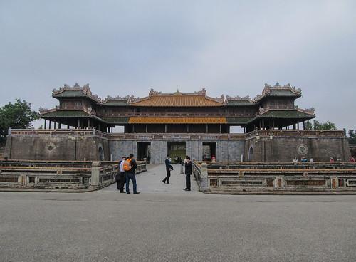 La Citadelle de Hué: la Porte du Midi