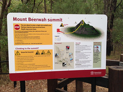 Path to the summit of Mount Beerwah