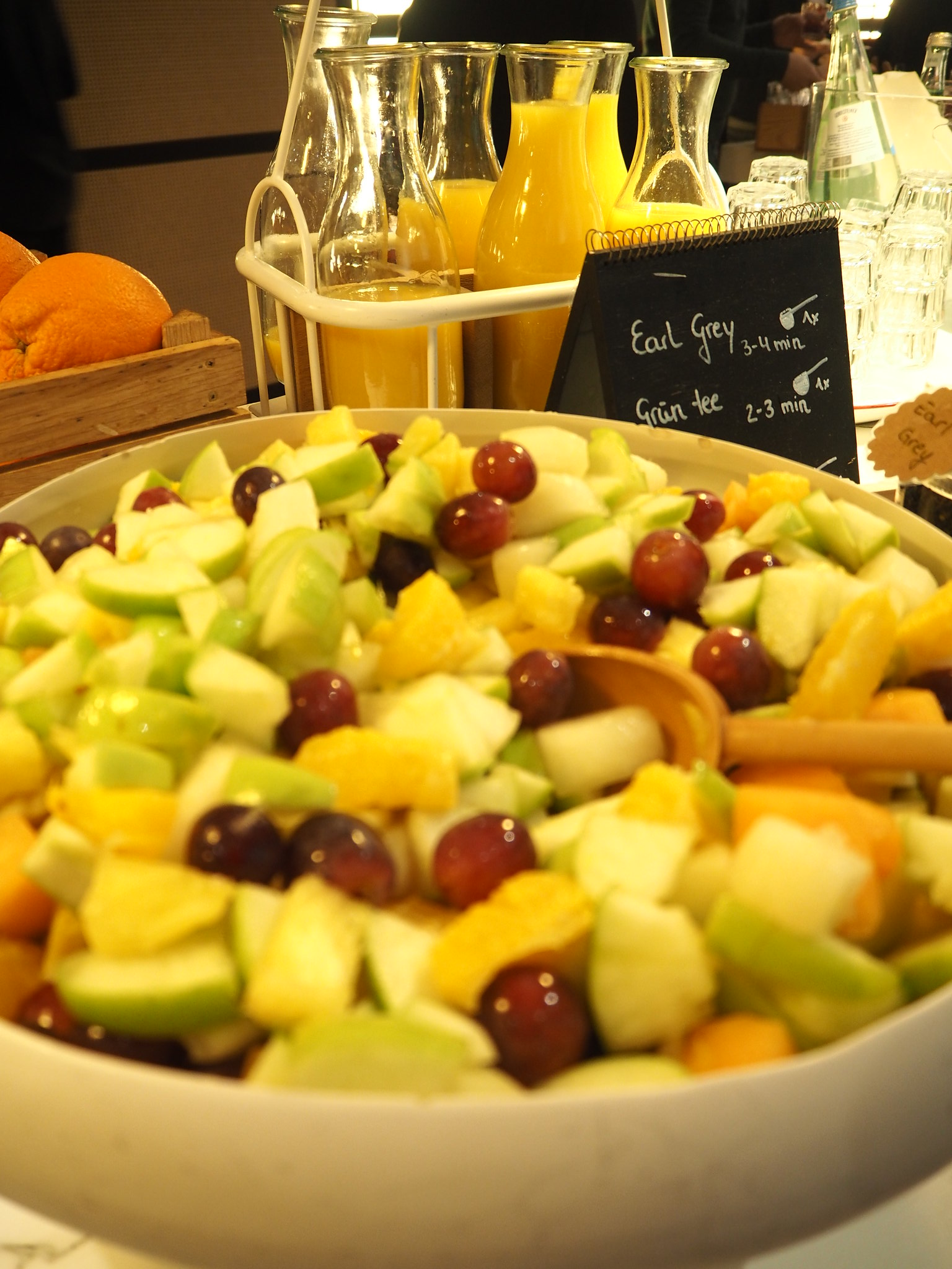 Obstsalat, Radisson Blu