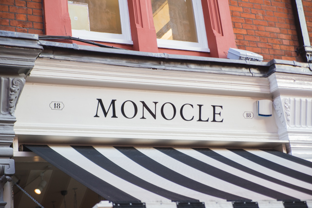 Monocle cafe Chiltern Street