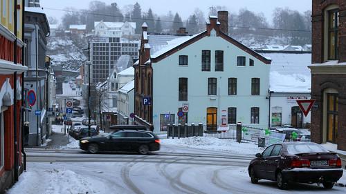A walk round Skien, Norway