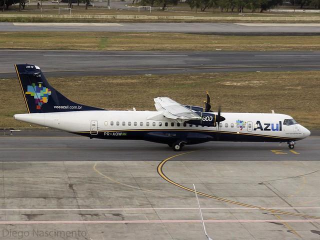 PR-AQW AZUL Linhas Aéreas Brasileiras ATR 72-600 (72-212A) - cn 1232