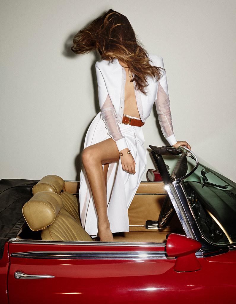 Лили Олдридж — Фотосессия для «Vogue» ES 2015 – 4