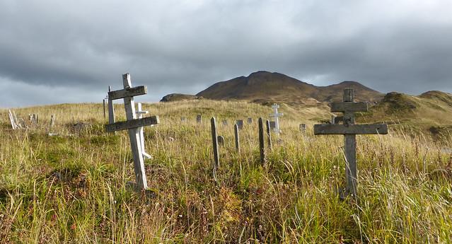 Gravesites - R.I.P. - Unalaska - Aleutian Islands, Alaska