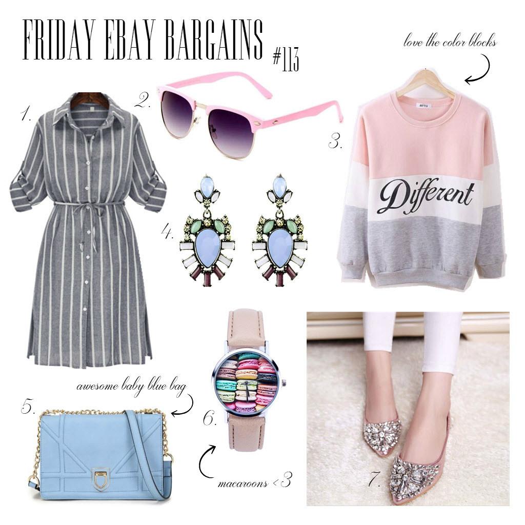 Friday Ebay bargains pastels