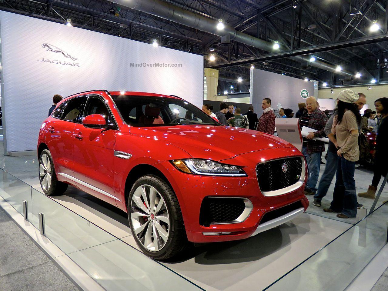 Philly Auto Show 2016 Jaguar F-Pace SUV