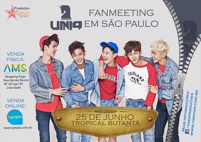 Uniq no Brasil! Conheça o grupo que virá para o Brasil em Junho!