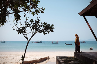 Image of Klong Muang. camera sea summer vacation woman sun hot beach thailand boats fishing sand asia fuji shadows review salt best palm krabi aonang klongmuang x100t fujifilmx100t besttravelcamera beststreetcamera