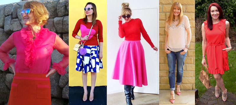 Fashion bloggers in pink and/or red #iwillwearwhatilike
