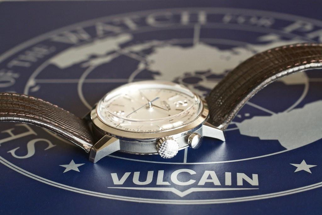 vulcain - [Revue] Vulcain 50s President' watch cricket 39mm ref : 100153.295L 24959806883_db51d14803_b