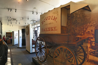 Boudin - Museum and Bakery Tour wagon