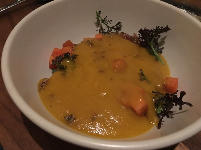 Hokkaido squash soup - Aster