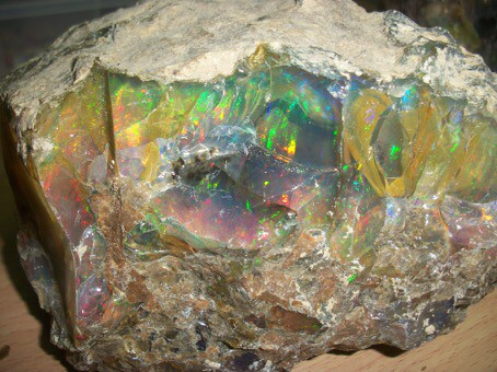 6000ctw Welo Ethiopia Opal Rough Piece.