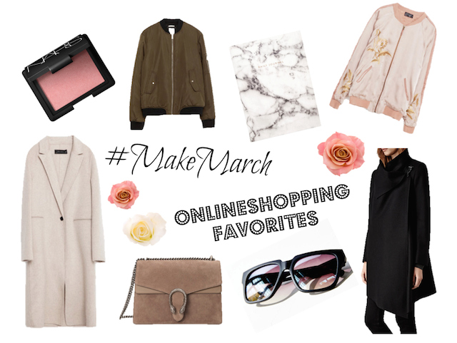 Monthly Onlineshopping Favorites March