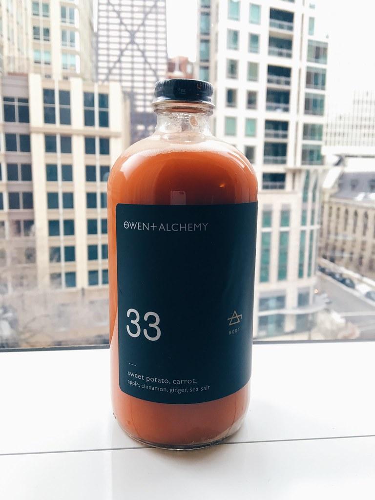 Owen & Alchemy Sweet Potato Juice