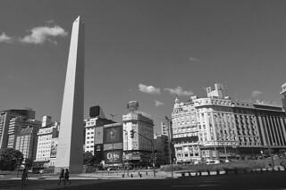 Buenos Aires - Ave 9 de Julio Obelisco