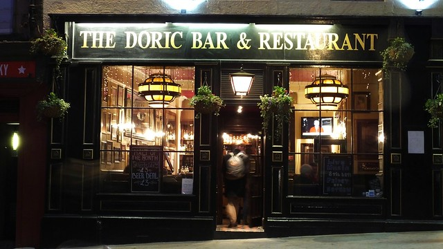 The Doric at night 02
