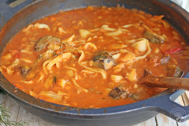 Andrajos con bacalao de Jaen www.cocinandoentreolivos.com (2)