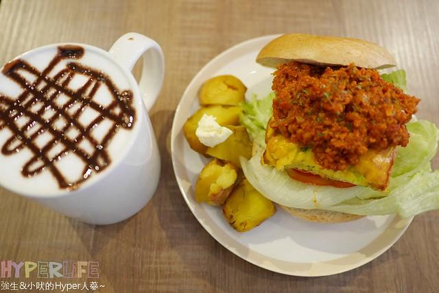 下午茶,勤美附近,台中,咖啡廳,推薦,早午餐,模範街1號店,複合式餐廳,西區,西式甜點,貝果,雜貨,鬆餅,麵包 @強生與小吠的Hyper人蔘~