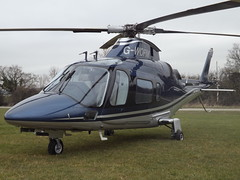 G-WOFM Agusta A109 Helicopter