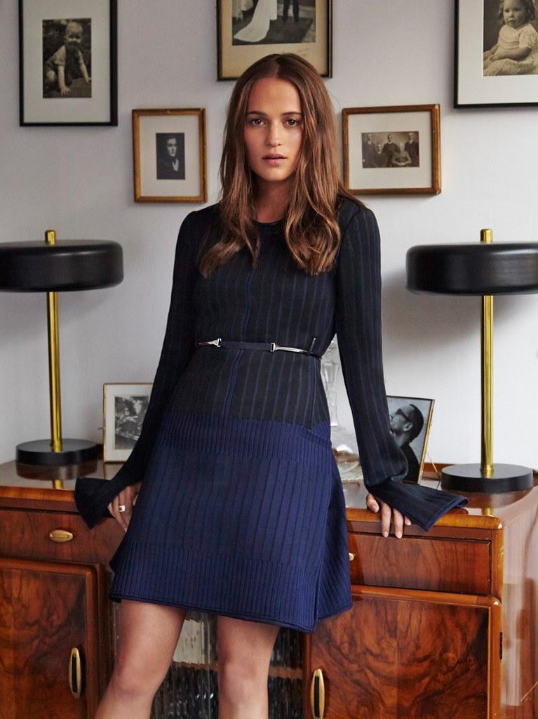 Алисия Викандер — Фотосессия для «Marie Claire» 2015 – 1