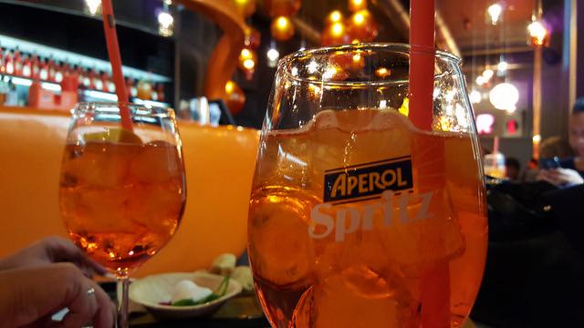 Il Mercato Del Duomo Milano - Terrazza Aperol Spritz drink
