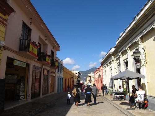San Cristóbal de las Casas: la rue Real de Gadalupe