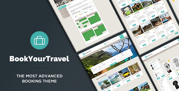 Book Your Travel v7.04 - Online Booking WordPress Theme