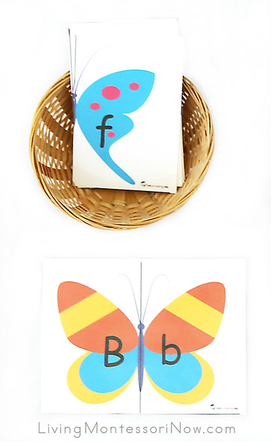 Alphabet Butterfly Puzzles