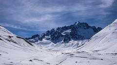 Pointe Nerot 3538m ze schorniska Villar d