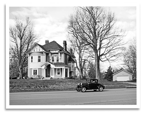 blackandwhite bw classic ford car modela vintage mono ky historic lancaster restored preserved ckmarc centralkymodelarestorersclub