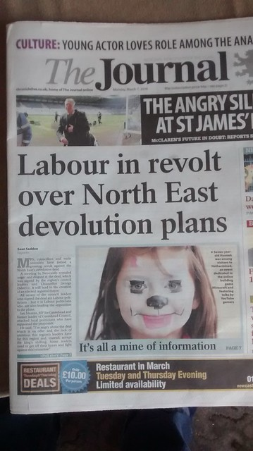Journal Labour row headline Mar 16