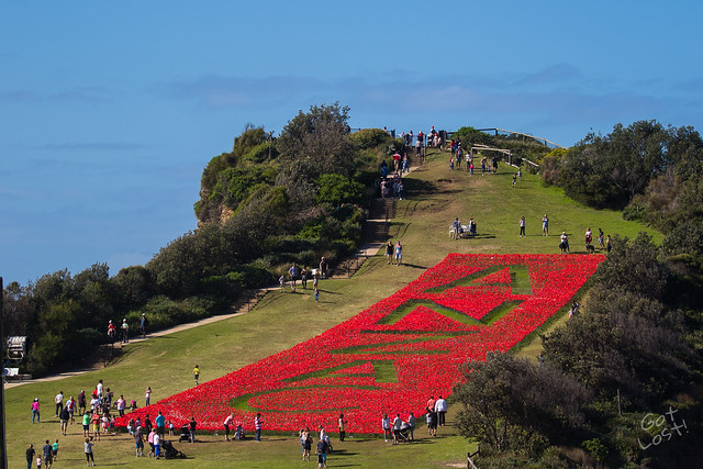 ANZAC Day - Terrigal, NSW, Australia